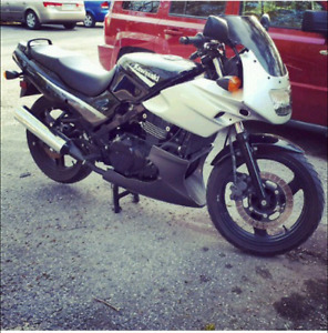 Looking to trade for a truck (Ninja 2005 500r 16k)