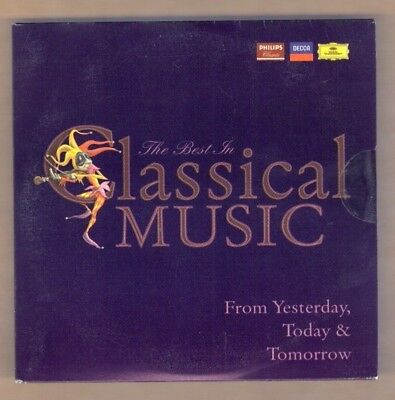 THE BEST OF CLASSICAL MUSIC FROM YESTERDAY, TODAY & TOMORROW cd new 10