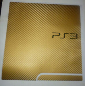 PS3 Gold Color - Great Condition - comes with 2