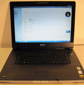 "Sony Vaio 17"" LCD, HDMI, webcam laptop"