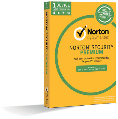 Norton Security Deluxe 2018 Antivirus Premium Protection For 365 Days 1 Device