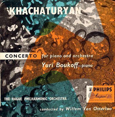 "Khachaturyan(10"" Vinyl)Concerto For Piano And Orchestra Yuri Boukoff-Ph-VG/VG"