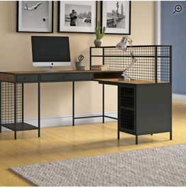 Xan L shaped computer desk from Wayfair 🔥BRAND NEW IN BOX🔥 RRP £799