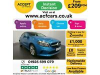 2016 BLUE MERCEDES A180D 1.5 SPORT EXECUTIVE DIESEL MAN CAR FINANCE FR £209 PCM