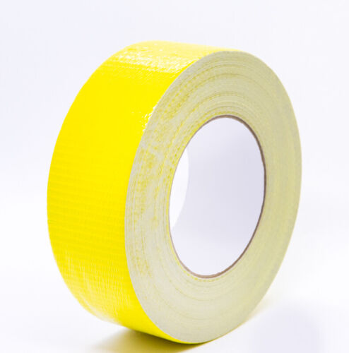 "IPG AC36 - Medium Grade YELLOW Duct Tape 2"" X 60Y (48mmX55M ) 11 Mil, Case of 24"
