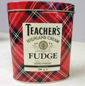 Vintage Teacher's Fudge Tin Can Kitchener / Waterloo Kitchener Area image 1