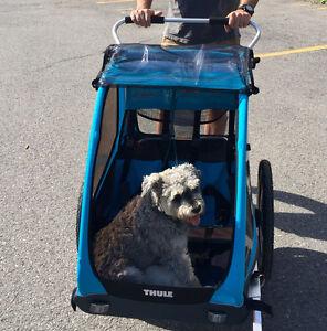 Thule Coaster XT Stroller - DOUBLE 2 Seatbelts
