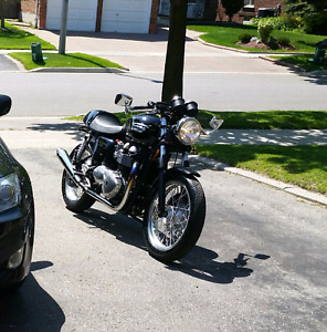 Triumph thruxton for trade