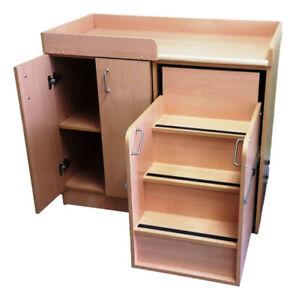 Table à langer garderies et cpe Spécial 490$ (meubles  garderie)