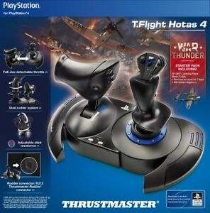 Thrustmaster T-Flight HOTAS 4 Controller PS4 Ace Combat 7 - New