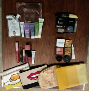 28 Ipsy Samples and 4 bags Un-opened