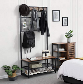 Coat and Shoe Rack Stand