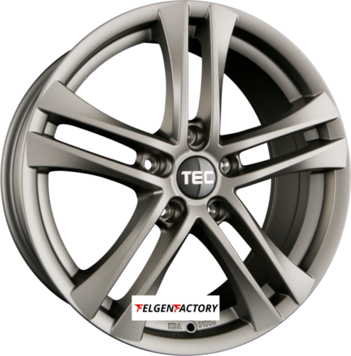 4x Felgen TEC SPEEDWHEELS AS4 8x18 ET47 5x112 Gun Metal 72.50 Alufelgen 18Zoll