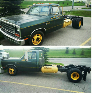 1985 dodge 350 PROPANE ONLY