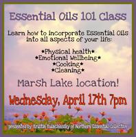 FREE essential oil class