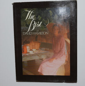 Rare The best of David Hamilton Nude photography Picture book