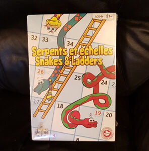 Jeu serpents et échelles NEUF (Gladius)
