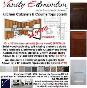 Kitchen Cabinets & Countertops SALE – 10' x 10' Kitchen Packages