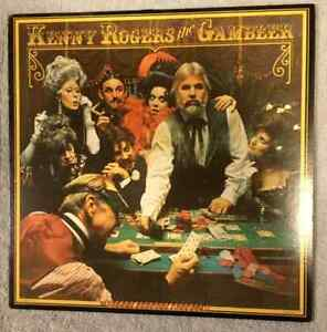 Kenny Rogers LP Records - The Gambler & 7 More