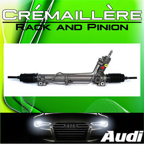 ►► Audi A3 • Audi A4 • Audi A5 ► Crémaillère || Rack and Pinion