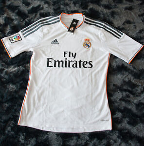 BRAND NEW WITH TAGS - Real Madrid Soccer Jersey - Men's Small