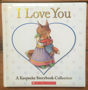 """I LOVE YOU"" children's picture books treasury 5 books in 1   $5"