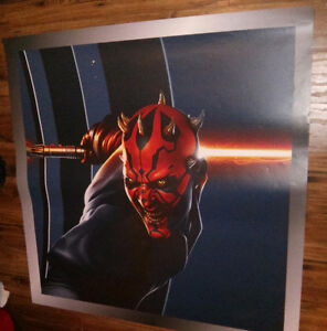 Star wars poster. Huge. 48inch X 48inch