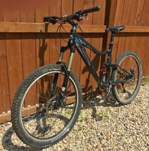 Full Suspension Rockie Mountain Bike