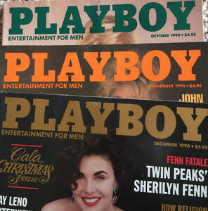 Lot of over 300 Playboy magazines 1991 to 2015