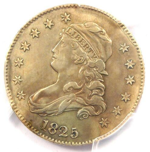 1825/4/2 Capped Bust Quarter 25C - PCGS XF Details - Rare Coin - Scarce Date!