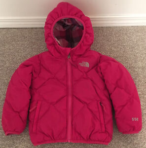 Toddlers North Face Moondoggy Reversible 550 Fill Winter Jacket