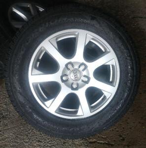4 mags audi Q5 pneus / tires 235-65-17