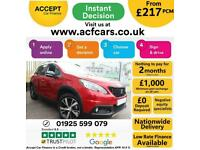 2019 RED PEUGEOT 2008 1.2 PURETECH 130 GT LINE CAR FINANCE FR £217 PCM