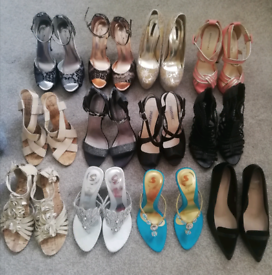SOLD...... All size 5 shoes, new or worn once, High heels