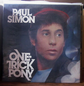 PAUL SIMON One Trick Pony VINYL Record Album 1980 ORIGINAL