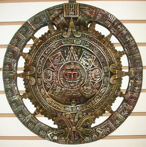 Http Ebay Co Uk Itm 18 Aztec Calendar Wall Sculpture Plaque Home Decor 221912258508