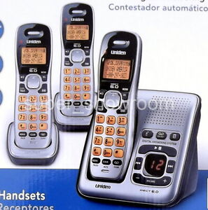 New-Uniden-3-Handset-DECT-6-0-Cordless-Digital-Answering-System-Phone-Set