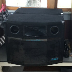Pair of Micron 600 watt Elite Speakers