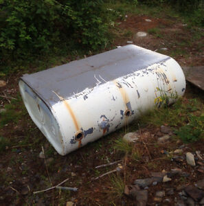 200 Gallon Double-Lined Oil Tank - about 10 years Old