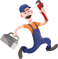 Experienced and skilled service plumber
