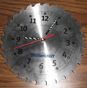 sawblade clock Peterborough Peterborough Area image 1