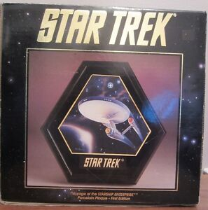Star Trek Porcelain Plaque – First Edition