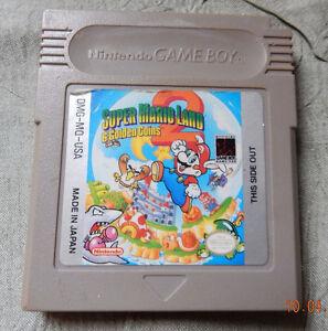 Super Mario Land 2:  6 golden coins 1992 Nintendo cassette