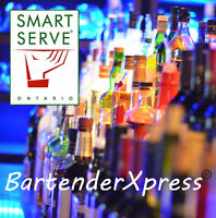 Smart Serve Certified Event Bartender - BartenderXpress