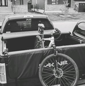 Tailgate pad pour vélo