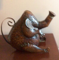 Elephant Watering Can, Copper Tone - St. Thomas