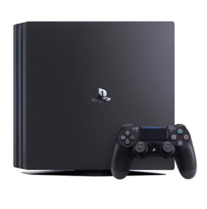 PlayStation 4 w/ 2 controllers & PS TV