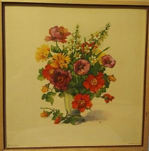 vintage Jo Roelofs floral print