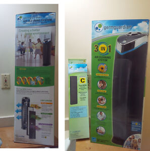 Air purifier / air cleaning system