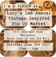 Lucy's 2nd Annual Vintage Inspired Market